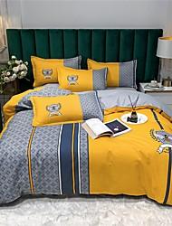 cheap -Duvet Cover Sets 4 Piece  Bohemian style European fashionable flat sheet Pillowcase Horse