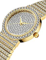cheap -Missfox ladies fashion exquisite high-end diamond quartz watch bracelet