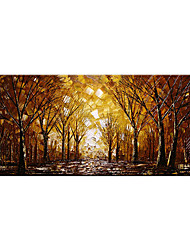cheap -Oil Painting Hand Painted Abstract Grove Landscape Wall Art Home Living Room Decoration Decor Rolled Canvas No Frame Unstretched