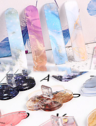 cheap -8 Pcs/set 2-in-1 Nail Practice Nail Holder Ins Butterfly Palette Combo Finger Holder Acrylic Display Strip