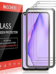 cheap -mascheri [3 pack] protective film for huawei p40 lite armored glass, [equipped with a mounting frame] [9h hardness] screen protective film armored glass film for huawei p40 lite