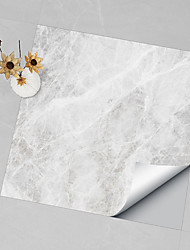 cheap -Hard Piece Marble Tile Sticker Royal Gray Granite Wallpaper Self-adhesive Wall Sticker Removable Waterproof Sticker Home Kitchen Bathroom Gray Marble Wallpaper