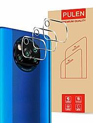 cheap -Phone Screen Protector For Xiaomi Mi 11 Mi 10T Pro 5G Mi 10T 5G Redmi Note 9 4G Redmi Note 9 5G Tempered Glass 3 pcs High Definition (HD) Scratch Proof Camera Lens Protector Phone Accessory