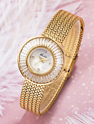 cheap -fashion trend high-end temperament ins diamond mesh belt waterproof quartz ladies watch