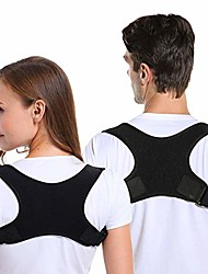 cheap -posture corrector for men and women, adjustable upper back brace straightener for clavicle support and providing pain relief from neck, back and shoulder (universal)