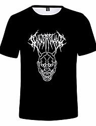 cheap -wawni ghostemane 3d men's women's mercury retrograde image print kids t-shirt short sleeve clothes (3d1,l)