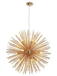 cheap -LED Pendant Light Crystal Chandelier 9-Light Firework Modern Sputnik Chandelier Pendant Light Fixture for living room Dining Room and Bedroom