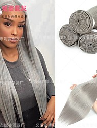 cheap -european and american wigs, african wigs, chemical fiber hair curtains, straight gray hair curtains, factory wholesale