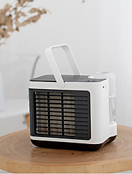 cheap -Mini Portable Air Cooler Air Conditioner Up and Down Free Ajustment USB Personal Space Cooler Fan Air Cooling Fan Rechargeable Fan Desk