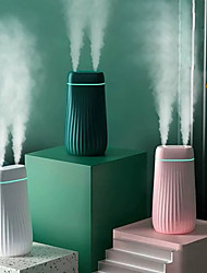 cheap -1000ml Mist Humidifier Diffuser Double Nozzle Cool Mist Night Light Quiet Humidifier Essential Oil Diffuser New Humidifier for Home 1.0L