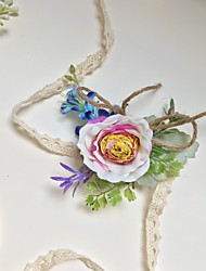 """cheap -Wedding Flowers Wrist Corsages Wedding Party / Birthday Party Artificial Flower 2.76""""(Approx.7cm)"""