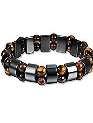 cheap -magnetic bracelet, men's titanium magnetic therapy bracelet, adjustable fashion steel magnetic bangle germanium negative ion pain relief for arthritis