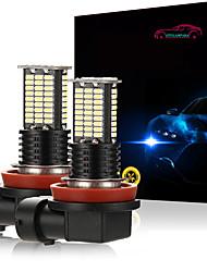 cheap -OTOLAMPARA Super Bright LED Fog Light 5202 9006 H7 H11 P13W Special for Honda/ Toyota/ Mitsubishi/ Hyundai/ KIA/ Volvo/ Renault/ Fiat 6000K LED White Color 2pcs