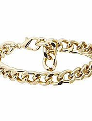 cheap -nanafast cuban link chain anklet for women iced out 10mm/15mm thick ankle bracelet for girls punk hip-hop foot jewelry adjustable 10mm-gold
