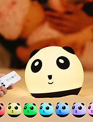 cheap -Night Light Tumbler Panda Rainbow Light Kindergarten Tiktok Night Light Decoration Baby Children Night Light with Remote Control Mode Switch Brightness Adjustment