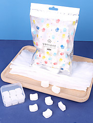 cheap -Travel Box Disposable Compressed Towel 50 Pieces Travel Pack Portable Korean Multifunctional Compressed Face Towel