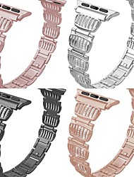 cheap -Smart Watch Band for Apple iWatch Jewelry Design Zinc alloy Replacement  Wrist Strap for Apple Watch Series SE / 6/5/4/3/2/1