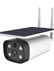cheap -2MP Solar Wireless Battery WIFI /4G Outdoor Security IP Camera IP66 Waterproof PIR Motion Detection Smart Home Surveillance