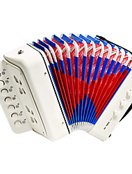 cheap -Kids Accordion Toy Accordian Mini Musical Instruments 10 Keys Button for Child Children Kids Toddlers Beginners
