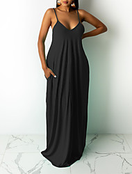 cheap -smr10208 cross-border amazon new style european and american cross-border fashion summer casual loose sleeveless v-neck dress