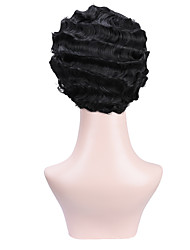 cheap -foreign trade european and american wigs, african beautiful women, short curly hair, nostalgic republic of china, old shanghai style cheongsam wig headgear