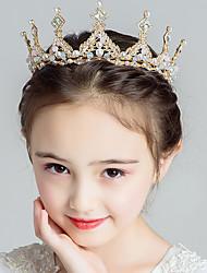 cheap -Kids Baby Girls' Crown Tiara Hairpin Korea Cute Fashion Elegant Personality Birthday Gift Exquisite Performance Princess Headband