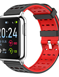 cheap -V5 Smartwatch Fitness Running Watch Bluetooth Pedometer Activity Tracker Sleep Tracker Long Standby Hands-Free Calls Camera Control IP67 35mm Watch Case for Android iOS Kids Women / Gravity Sensor