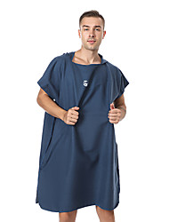 cheap -Quick Drying Cape,Solid Color Superfine Fiber Double Side Velvet Water Absorption Swimming Beach Towel Bathrobe