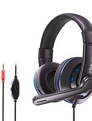 cheap -OVLENG X5 Gaming Headset 3.5mm Headphone 3.5mm Microphone Desktop Computer Ergonomic Design Retractable Stereo for Apple Samsung Huawei Xiaomi MI  PC Computer Gaming