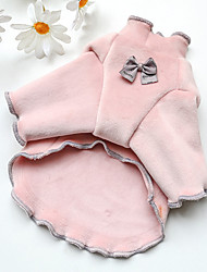 cheap -Dog Cat Sweater Solid Colored Animal Adorable Cute Dailywear Casual / Daily Winter Dog Clothes Puppy Clothes Dog Outfits Soft Blue Pink Beige Costume for Girl and Boy Dog Polyester XS S M L XL