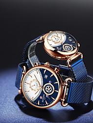 cheap -Reward Couple watch fashion trend ins watch waterproof quartz watch