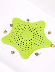 cheap -Five Pointed Star Kitchen Sink Anti Clogging Starfish Silicone Floor Drain Bathroom Sewer Filter Factory Direct Sales