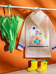 cheap -Kid's Child Jacket & Coat astronaut hot air balloon Cartoon Image Cute