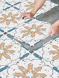 cheap -8pcs Creative Kitchen Bathroom Living Room Floor Stickers Non-slip Waterproof And Wear-resistant Gems Terrazzo Floor Stickers