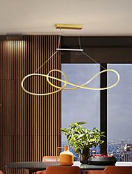 cheap -LED Pendant Light Modern Black White Gold 90 cm Aluminum Artistic Style Stylish Painted Finishes Artistic Nordic Style 110-120V 220-240V