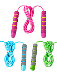 cheap -3 Pack Adjustable Soft Skipping Rope Fitness Skipping Rope with Skin-Friendly Foam Handles for Kids Students for Outdoor Activity Party Favor Exercise Activity