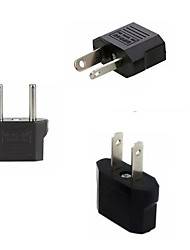 cheap -5pcs European EU Power Electric Plug Adapter American China Japan AU to US EU to US US to EU Euro Travel Adapter AC Power Cord Charger Sockets Outlet