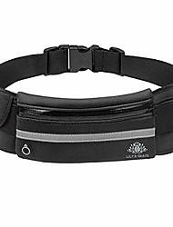 cheap -lily's grace running belt waist pack - water resistant neoprene runners belt, adjustable running pouch for all kinds of phones, fanny pack, money belt, multifunctional (black)