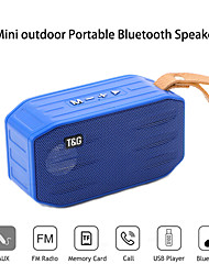 cheap -T&G TG296 Outdoor Speaker Wireless Bluetooth Portable Speaker For PC Laptop Mobile Phone