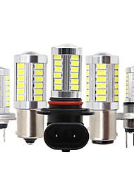 cheap -2PCS Car h4 h7 LED H8 H11 led 9005 hb3 9006 hb4 p13w H16 5630 33SMD Fog Lamp Daytime Running Light Bulb Turning Parking Bulb 12V