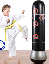 cheap -Fitness Punching Bag Heavy Inflatable Punching Tower Bag Freestanding Children Fitness Play Adults De-Stress Boxing Target Bag 5.25ft