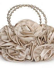 cheap -caiyue g32 ladies handbag fashion rose flower dinner bag handmade beaded ladies shoulder bag