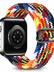 cheap -Smart watch band adjustable braided sport elastics bands compatible with apple watch bands 38mm 40mm 42mm 44mm  streatch solo loop strap compatible for iwatch series 6 5 4 3 2 1 se(patents pending)
