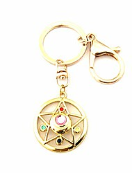 cheap -hbswui tv movies show original design quality anime cosplay jewelry cartoons metal salor moon keychains gifts for men woman