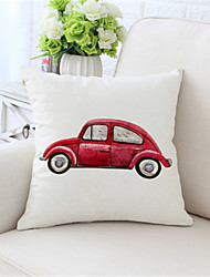 cheap -Double Side Cushion Cover 1PC Faux Linen Soft Decorative Square Throw Pillow Cover Cushion Case Pillowcase for Sofa Bedroom Superior Quality Machine Washable