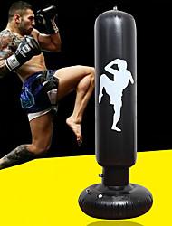 cheap -Punching Bag For Taekwondo Martial Arts Kick Boxing Leak-Proof Explosion-Proof Non Toxic PVC Kid's Adults' Black