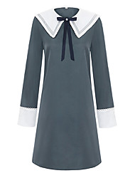 cheap -Inspired by Cosplay Cosplay Anime Cosplay Costumes Japanese Dresses Dress For Women's