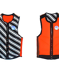 cheap -HISEA® Life Jacket High Elasticity Neoprene Swimming Surfing Water Sports Life Jacket for Adults / Summer / Winter / Women's / Stripes