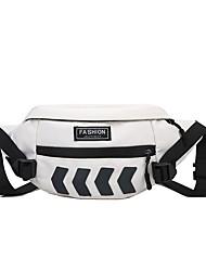 cheap -Unisex Bags Sling Shoulder Bag Zipper Daily 2021 White Black