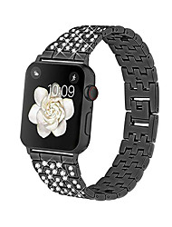 cheap -Smart Watch Band for Apple iWatch Jewelry Design Zinc alloy Replacement  Wrist Strap for Apple Watch Series 7 / SE / 6/5/4/3/2/1